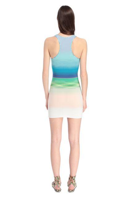 MISSONI MARE Короткое пляжное платье Голубой Для Женщин - Передняя сторона