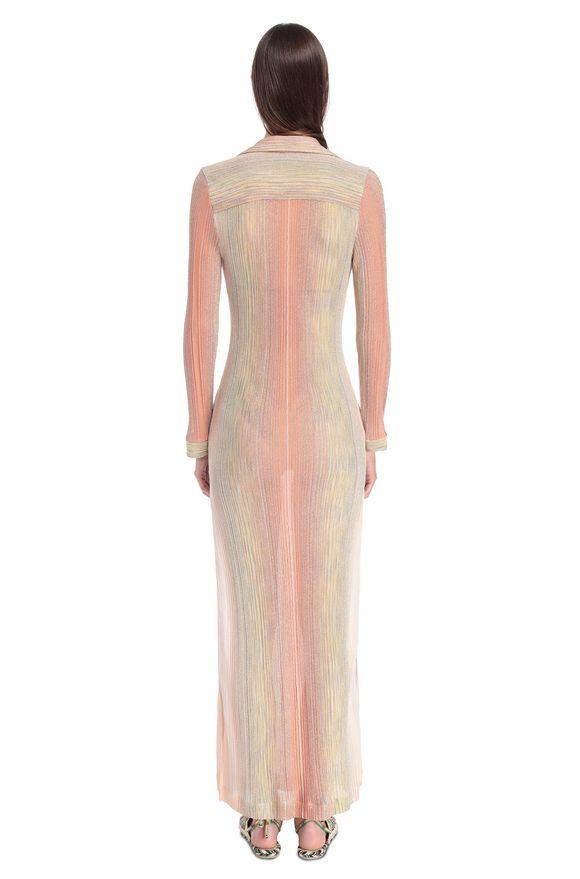 MISSONI Длинное пляжное платье Для Женщин, Вид сзади