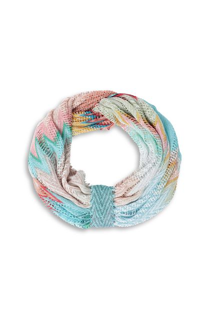 MISSONI MARE Beachwear head band Sky blue Woman - Back