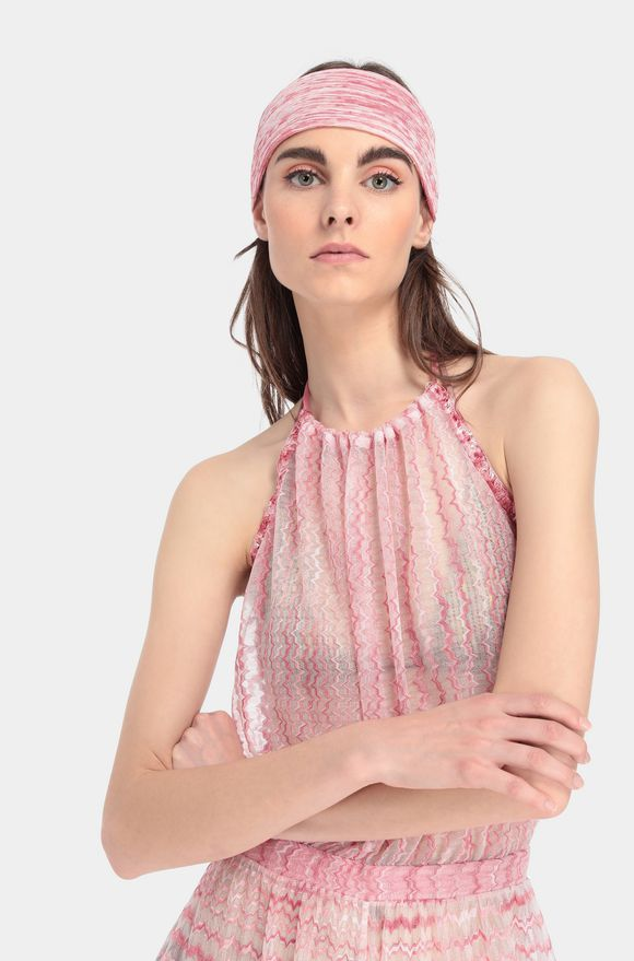 MISSONI Beachwear head band Woman, Detail