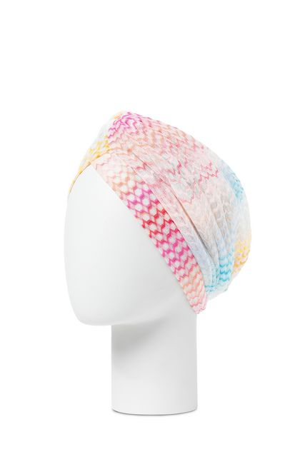 MISSONI MARE Beachwear turban Yellow Woman - Front