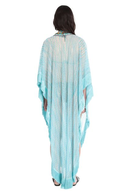 MISSONI MARE Kaftan Turquoise Woman - Front