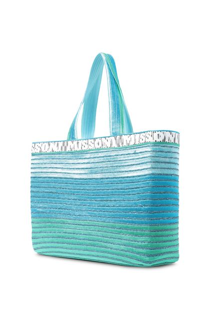 MISSONI MARE Beachwear Bag Azure Woman - Front
