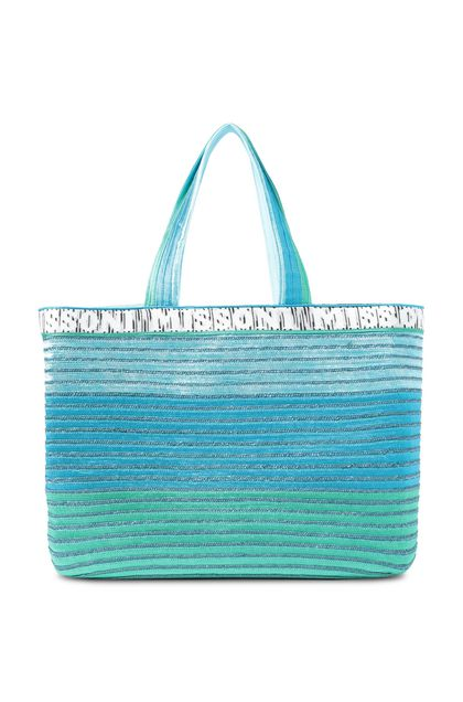 MISSONI MARE Beachwear Bag Azure Woman - Back