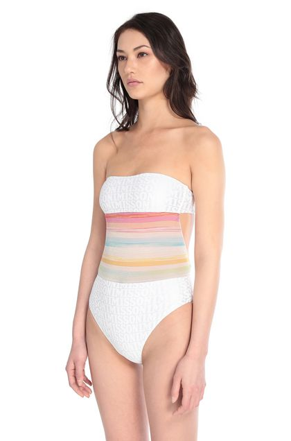 MISSONI MARE One-piece White Woman - Back