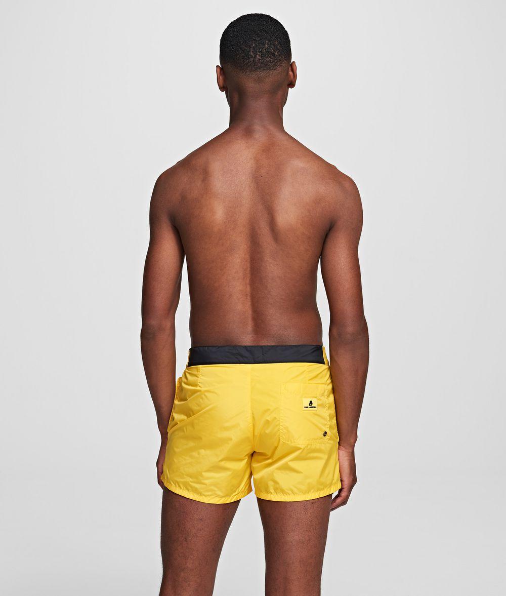 KARL LAGERFELD KARL VERTICAL SHORT BOARDSHORT Swimwear Man d