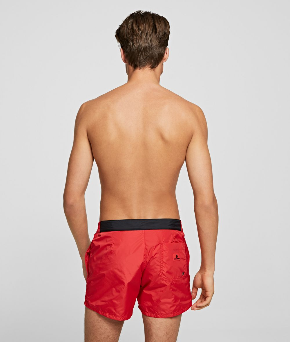 KARL LAGERFELD KARL VERTICAL SHORT BOARDSHORT Swimwear Man d