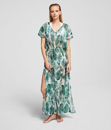 KARL LAGERFELD PALM BEACH COVER-UP