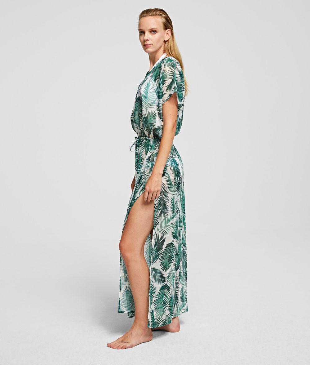 KARL LAGERFELD PALM BEACH COVER-UP Dress Woman d