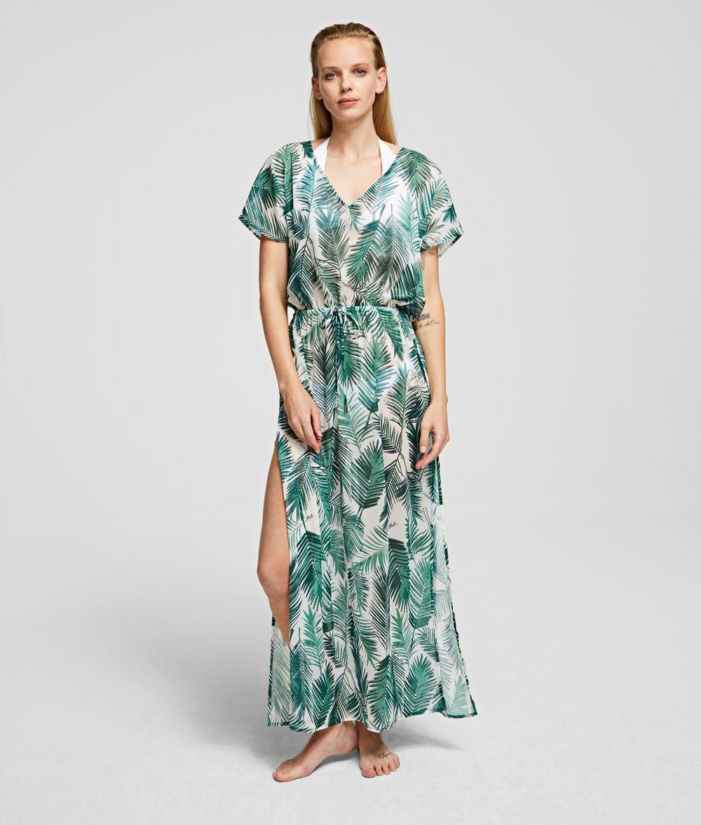 KARL LAGERFELD PALM BEACH COVER-UP Dress Woman f