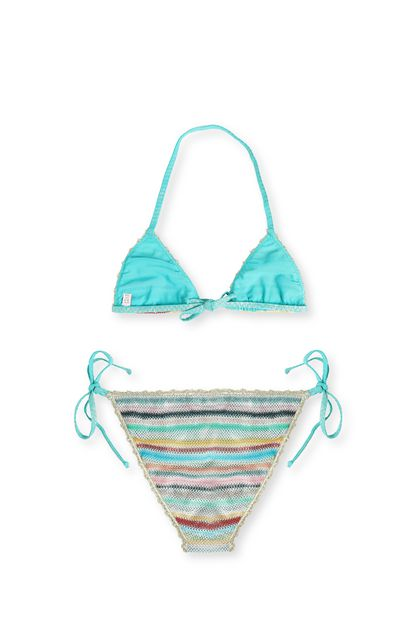 MISSONI KIDS Bikini Turquoise Woman - Front