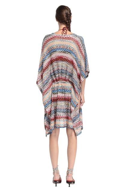 MISSONI MARE Short Beach Dress Light pink Woman - Front
