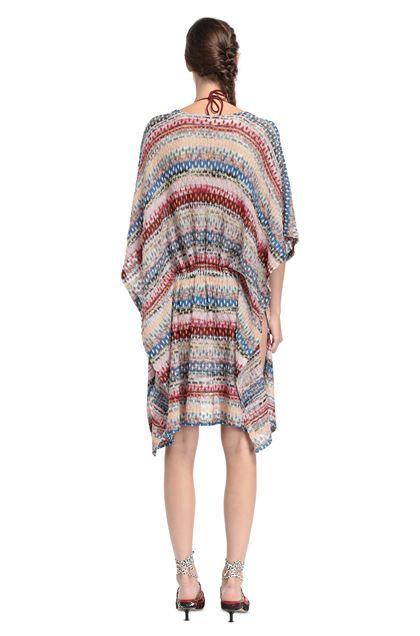 MISSONI MARE Короткое пляжное платье Светло-розовый Для Женщин - Передняя сторона
