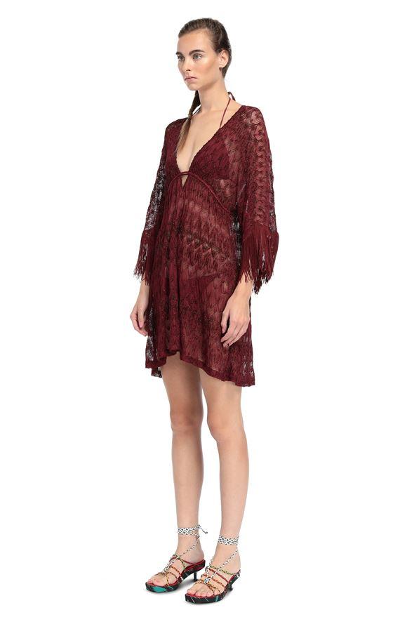 MISSONI Short Beach Dress Woman, Side view