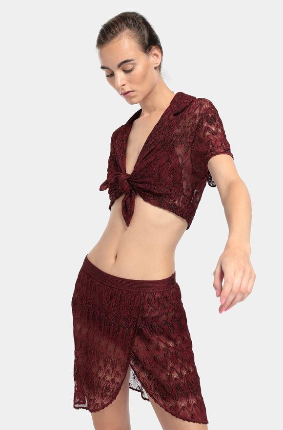 MISSONI Top beachwear Dame, Detail