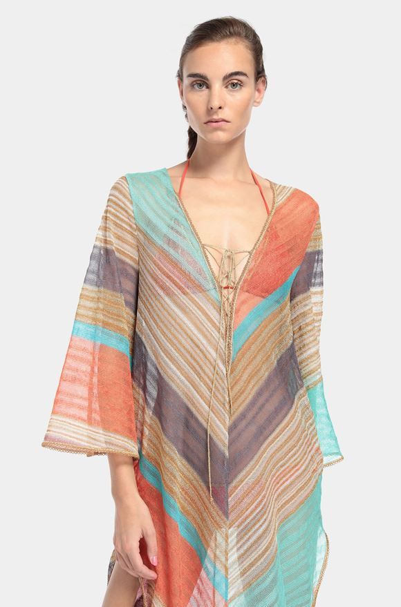 MISSONI Long beach coverall Woman, Detail