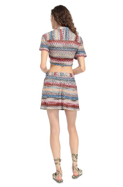 MISSONI MARE Shorts Pink Woman - Front