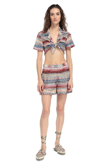 MISSONI MARE Shorts Pink Woman - Back