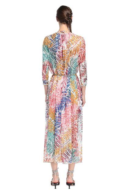 MISSONI MARE Длинное пляжное платье Белый Для Женщин - Передняя сторона