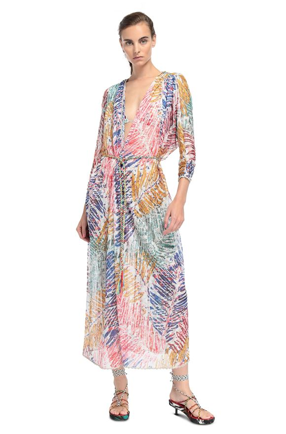 MISSONI Long beach coverall Woman, Frontal view
