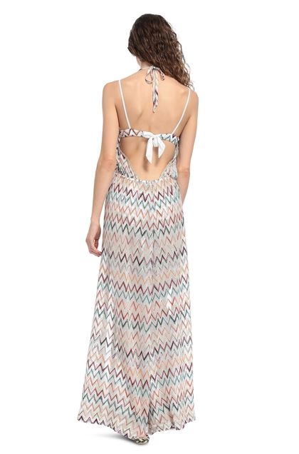 MISSONI MARE Beach Jumpsuit White Woman - Front