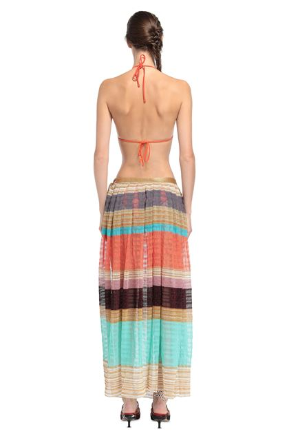 MISSONI MARE Beachwear skirt Gold Woman - Front