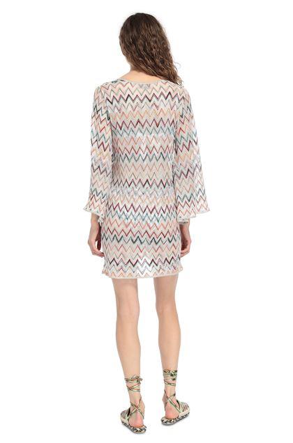 MISSONI MARE Короткое пляжное платье Белый Для Женщин - Передняя сторона