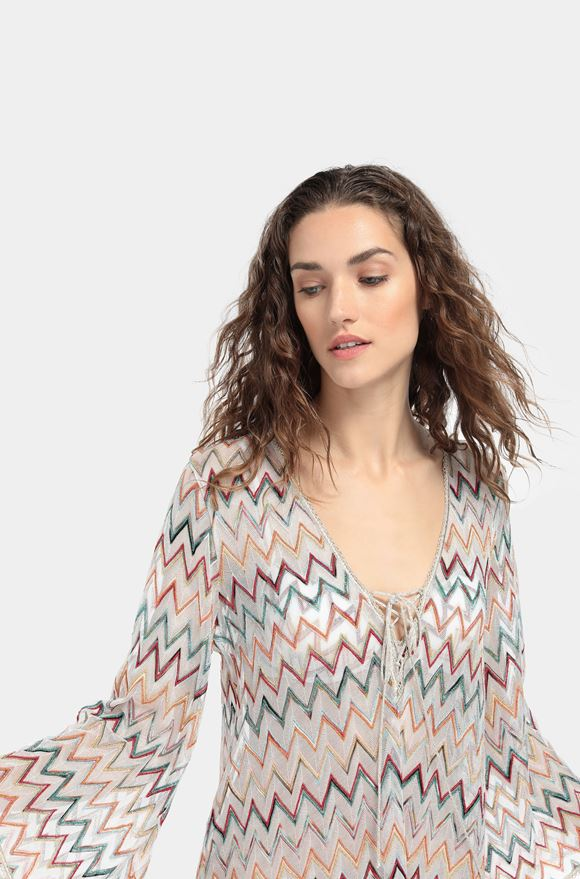 MISSONI Short Beach Dress Woman, Detail