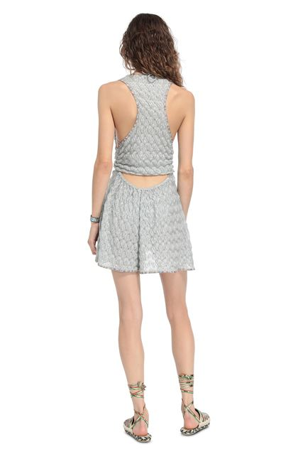 MISSONI MARE Beach Jumpsuit Light grey Woman - Front