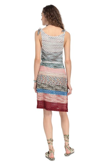 MISSONI MARE Short Beach Dress Salmon pink Woman - Front