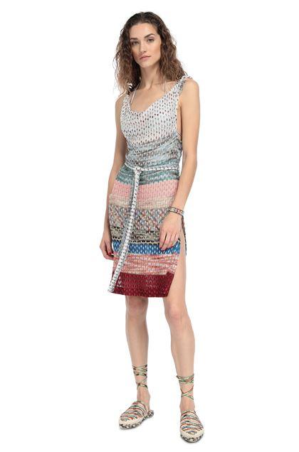 MISSONI MARE Короткое пляжное платье Лососевый Для Женщин - Обратная сторона