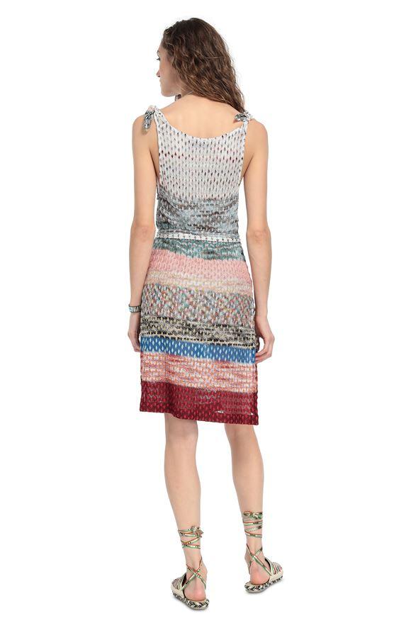 MISSONI Short Beach Dress Woman, Rear view