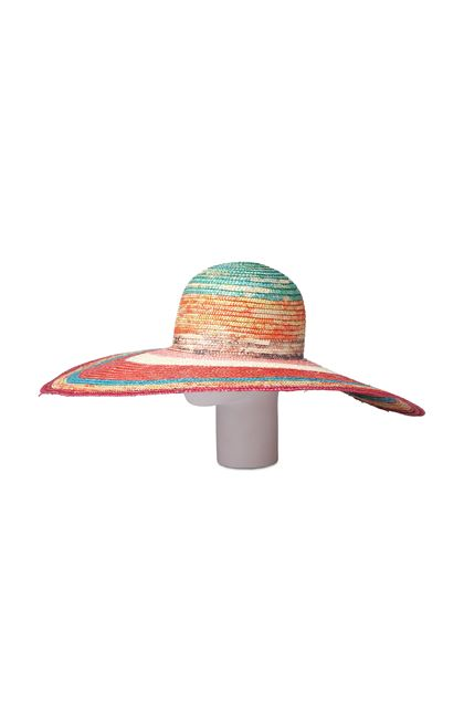 MISSONI MARE Beach Hat Orange Woman - Front