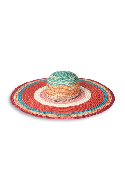 MISSONI MARE Beach Hat Orange Woman - Back