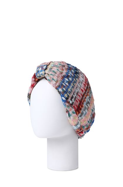 MISSONI MARE Beachwear turban Bright blue Woman - Front