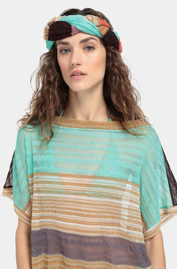 MISSONI Beachwear Haarband Dame, Detail