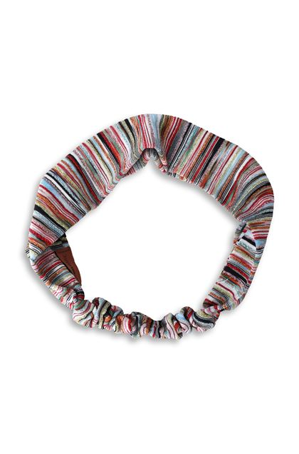 MISSONI MARE Beachwear head band Red Woman - Back