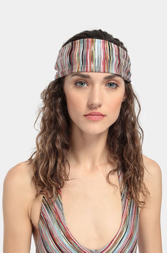 MISSONI Beachwear Haarband Dame, Detail