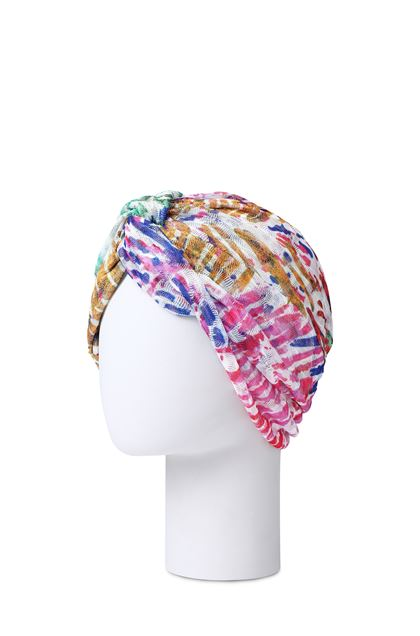 MISSONI MARE Beachwear turban Fuchsia Woman - Front