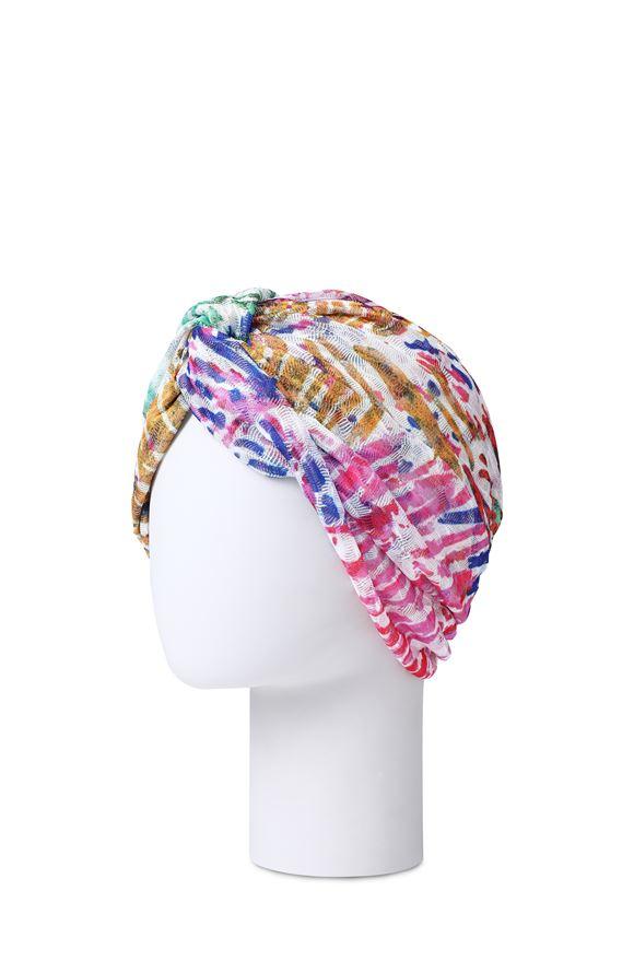 MISSONI Beachwear turban Woman, Rear view