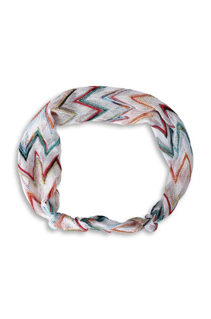 MISSONI MARE Beachwear head band White Woman - Back