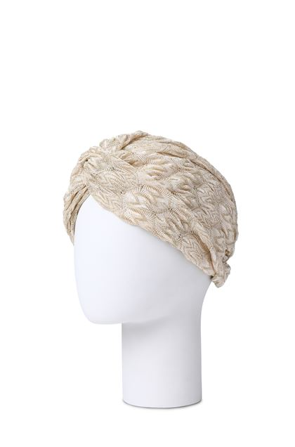 MISSONI MARE Beachwear turban Sand Woman - Front