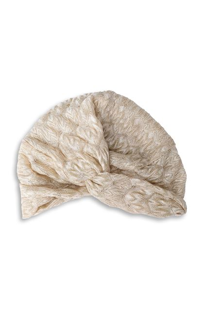 MISSONI MARE Beachwear turban Sand Woman - Back