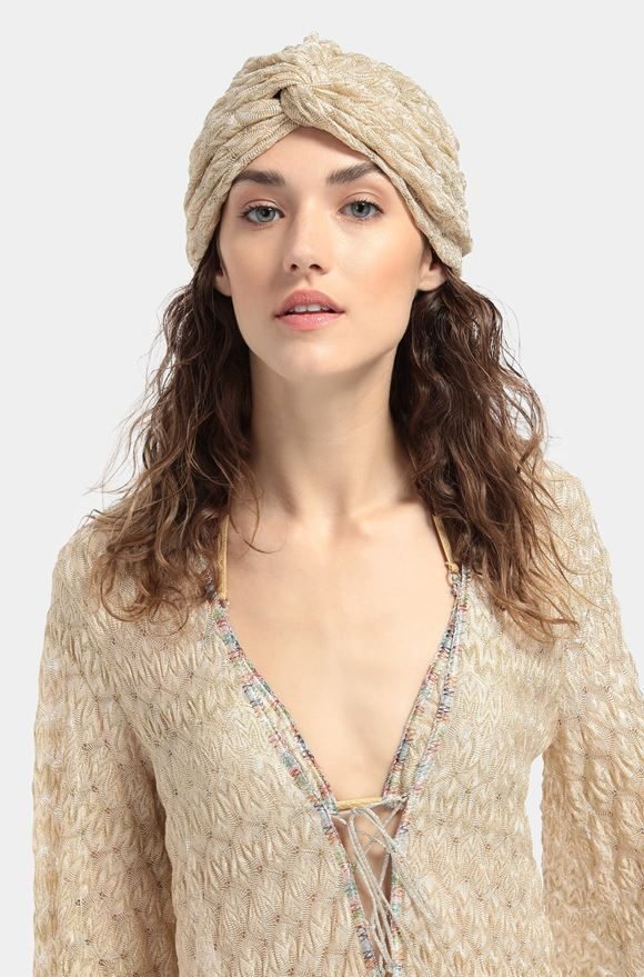 MISSONI Beachwear turban Woman, Detail