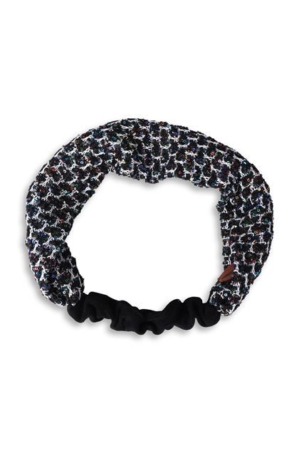 MISSONI MARE Beachwear head band Black Woman - Back