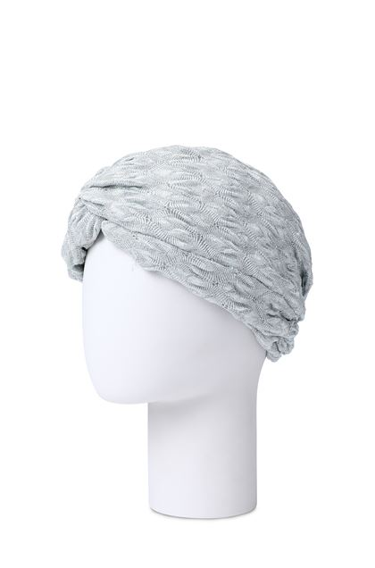 MISSONI MARE Beachwear turban Light grey Woman - Front