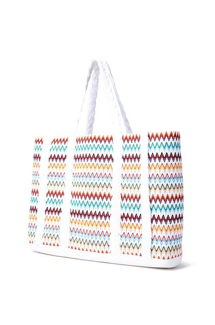 MISSONI MARE Beachwear Bag White Woman - Front