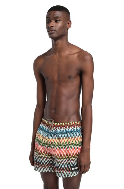 MISSONI MARE Swimsuit Yellow Man - Back