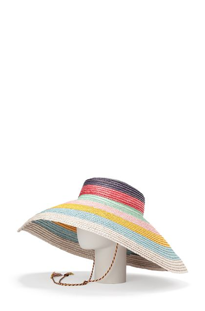 MISSONI MARE Beach Hat Purple Woman - Front
