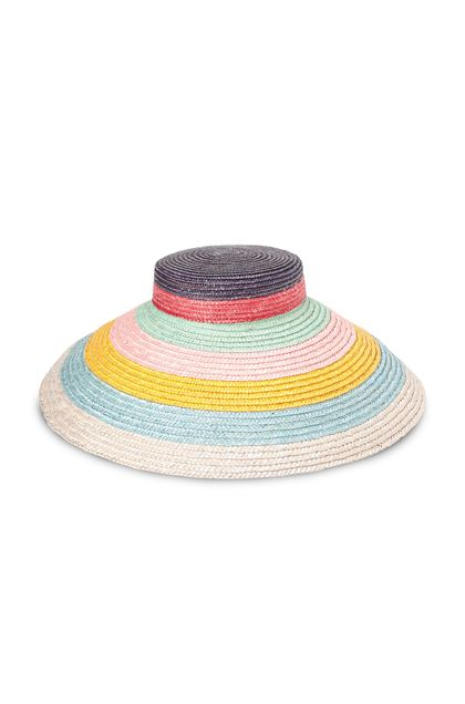 MISSONI MARE Beach Hat Purple Woman - Back
